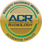 Angelo MRI is an American College of Radiology Accredited Facility
